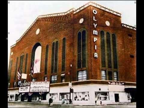 """Olympia Arena.  Affectionately called """"The Barn"""", the home of the Detroit Red Wings until their move to Joe Louis Arena"""