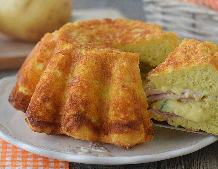 Αλμυρό μαλακό κέικ έτοιμο μέσα σε λίγα λεπτά - Jenny.gr