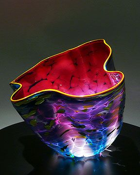 Dale Chihuly blown glass art: Dakota Macchia
