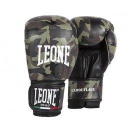 Gants de boxe camouflage kaki Leone 1947  Ce gant de camouflage est conçu pour offrir un excellent compromis entre esthétique et fonctionnalité. La mousse de protection extra augmente l'absorption de la transpiration pendant l'entraînement.