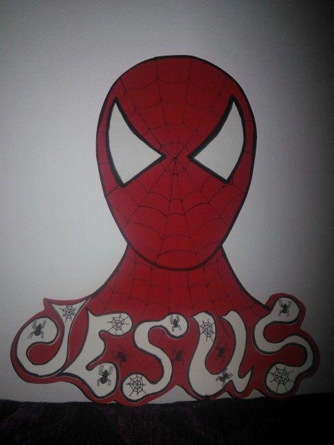 Fofuchas laestrellarosae, cartel spiderman
