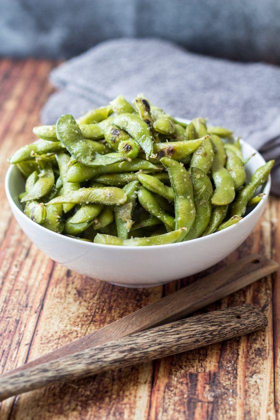 Garlic & Ginger Edamame Beans - The Wanderlust Kitchen