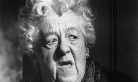 Miss Marple - Dame Margaret Rutherford who played Miss Marple in four films between 1961 and 1964