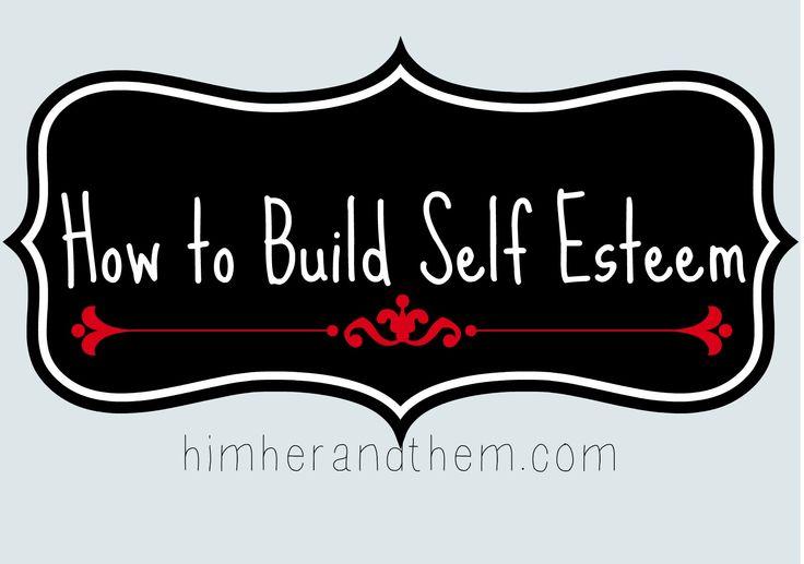 how to build self esteem