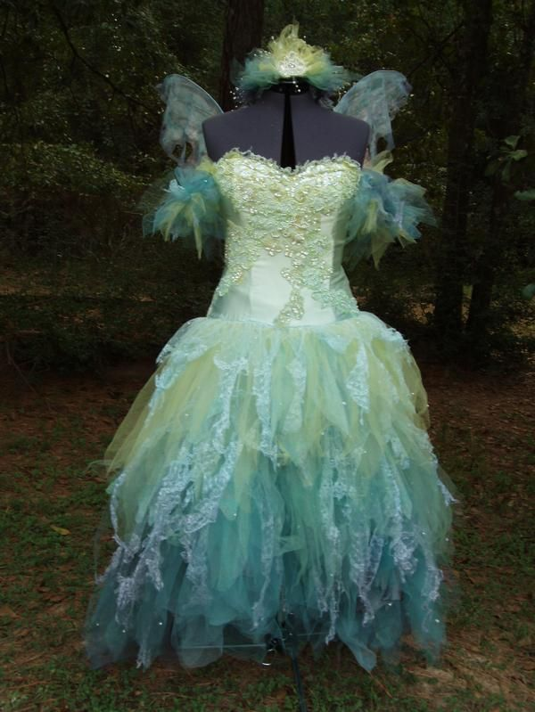 fairy dresses | Reverie of Solace: delicate fairy fantasy couture