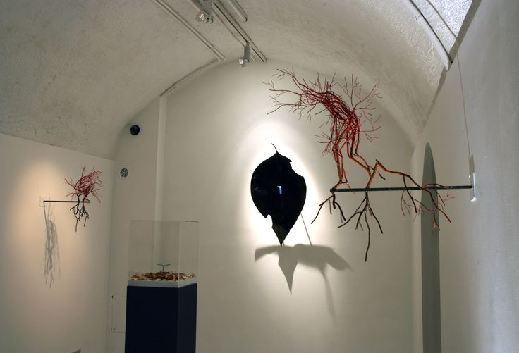 """View of the exhibition """"Return to our roots"""". Courtesy of the artist & ONEIRO gallery"""