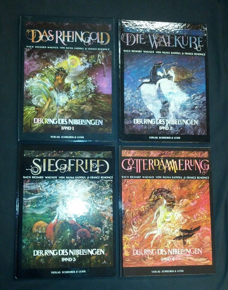 Ring der nibelung comic
