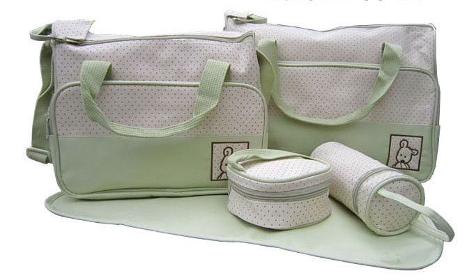 High Quality Diaper Bag Set - 5 Pieces