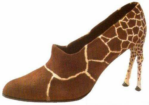 giraffe shoesDesign Shoes, Funny Shoes, Crazy Shoes, Shoes Design, Flats Shoes, Animal Prints, High Heels, The Zoos, Giraffes