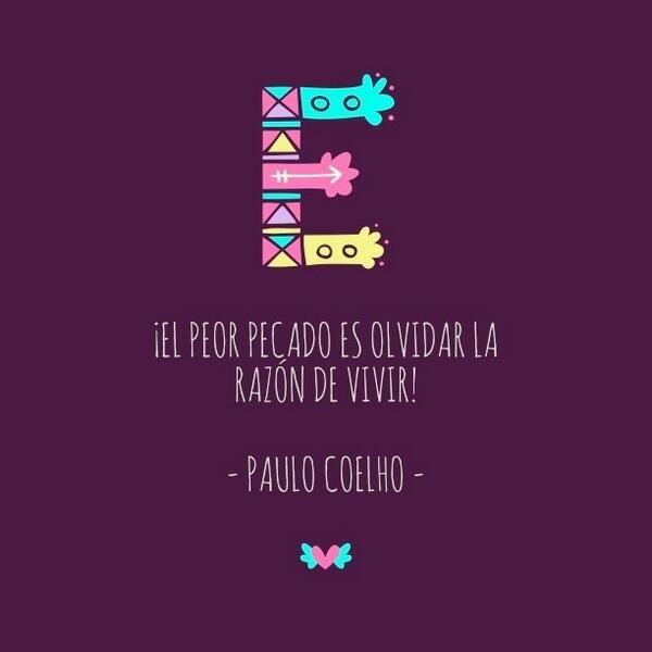 ¡El peor pecado es olvidar la razón de vivir! - @Paulo Fernandes Fernandes Fernandes Fernandes Fernandes Fernandes Coelho - http://www.instagram.com/comunidadcoelho | #Razón #Vida #ComunidadCoelho www.comunidadcoelho.com