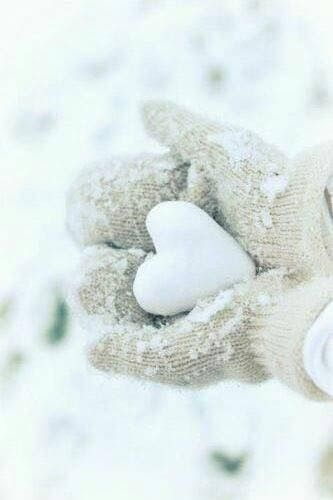 The first snow since I lost you. I miss you and you are always in my heart.