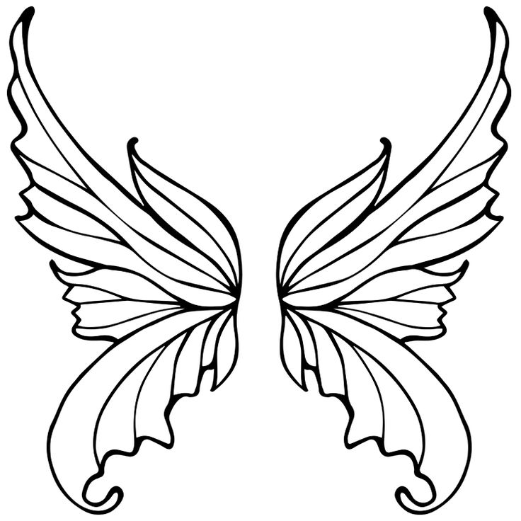 Wings Temporary Tattoos #691