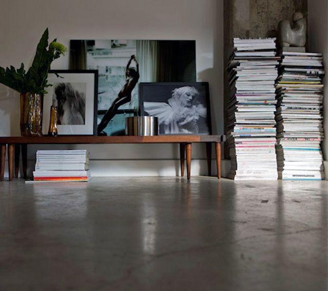 Fashion Photography Piles Of Magazines
