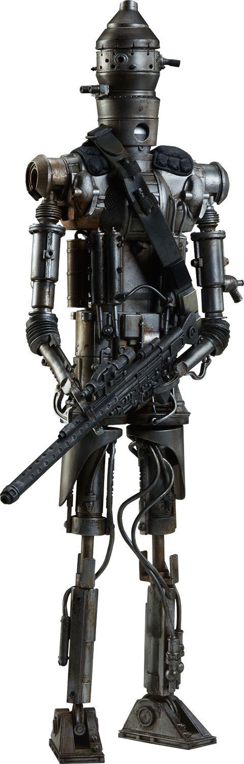IG-88 Sixth Scale Figure by Sideshow Collectibles Exclusive Prototype Shown Limited Edition: 2000