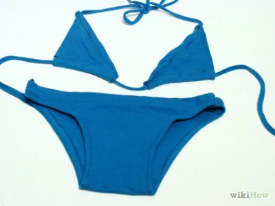 How to Recycle an Old T Shirt Into a Sexy Bikini -- via wikiHow.com