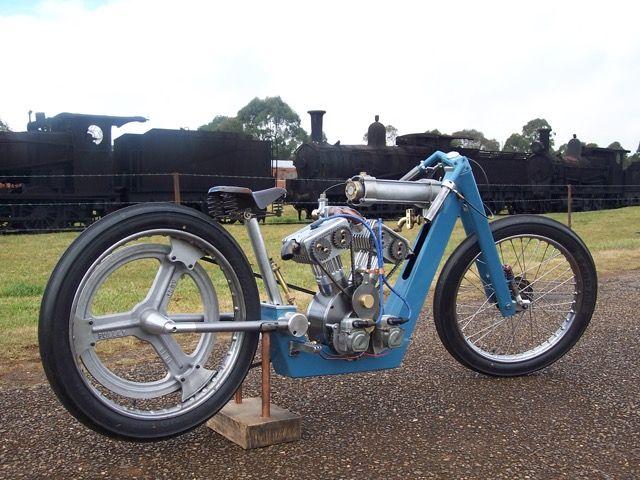 """""""Saltster"""" 1000 cc rotary valve, built by Mark Walker . Australia."""