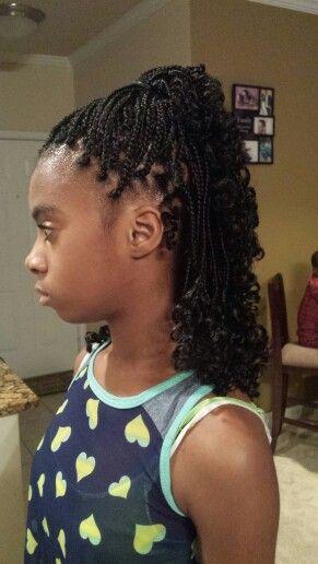 Kids small box braids