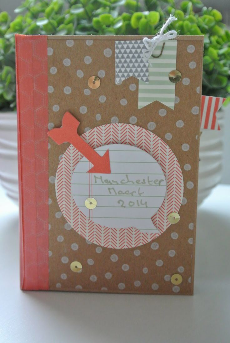 Mini album with Hip, Hip Hooray cardkit Stampin Up by Cards and Scrapping