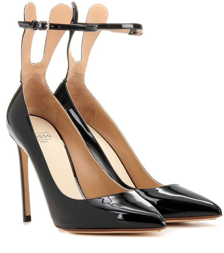 FRANCESCO RUSSO Patent Leather Pumps. #francescorusso #shoes #pumps