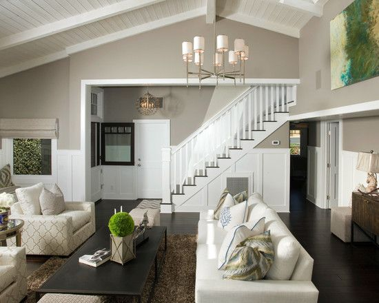 painted black beams on ceilings   Color Schemes For Living Rooms With High Ceilings best paint & 96 best SW Colors images on Pinterest   Wall colors Wall paint ...