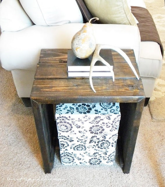 Diy Rustic Wood End Table: 1000+ Images About Rustic Painted Furniture Diy On