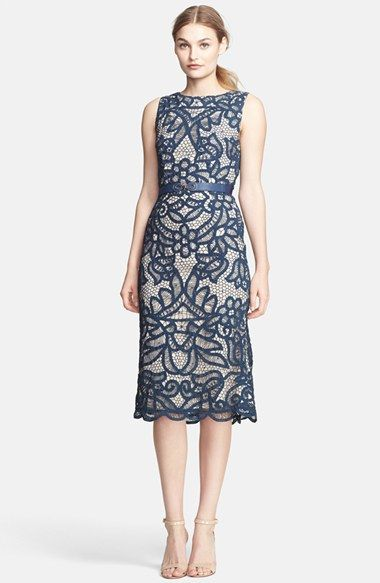 Indigo Blue Belted Sheath Dress Wedding Guest Weddingguestdress Dresses Pinterest And Nordstrom
