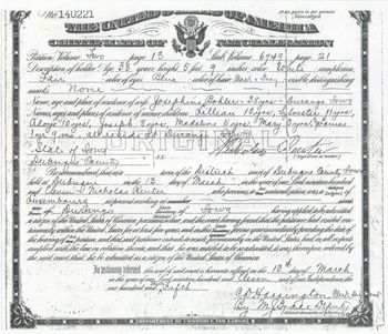 Your Guide to Finding And Using Naturalization Records