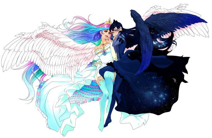 Luna and Celestia human | Other art | Pinterest