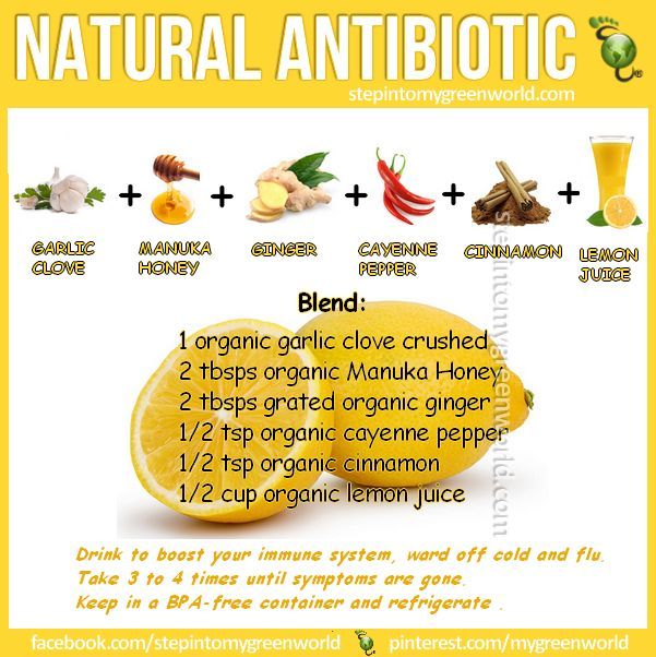 ☛ ARM yourself with this #natural  #antibiotic #remedy: Before the #viruses get you....  FOR A NATURAL #FLU SHOT RECIPE: http://www.stepintomygreenworld.com/greenliving/greenfoods/a-natural-flu-shot/ ✒ Share | Like | Re-pin | Comment