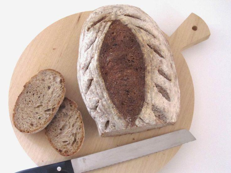 ricetta pane integrale di segale con lievito madre