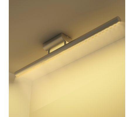 LED stropní svítidlo z nerezové oceli teplé bílé světlo 9W