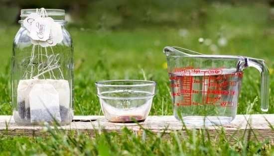 Recette de grand-mère autobronzant maison avec thé8 sachets de thé noir bio. - 500 ml d'eau. - 1 cuillère à soupe d'extrait de vanille. - Un flacon pulvérisateur.  Découvrez l'astuce ici : http://www.comment-economiser.fr/autobronzant-maison-sans-produit-chimique-3-ingredients.html