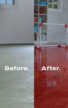 30 best before after exterior renovations images on for Diy garage floor cleaner