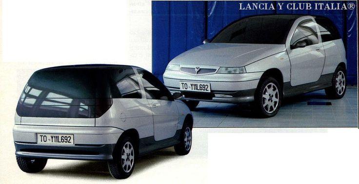 OG | 1996 Lancia Y | Clay model proposal