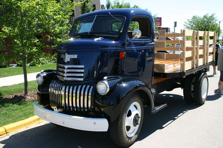 old coe truck