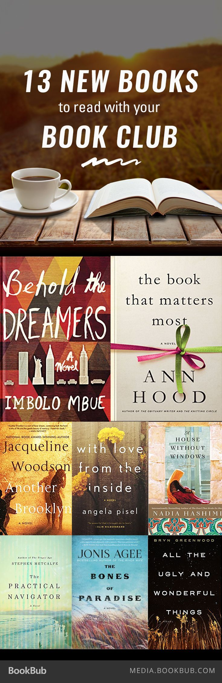 13 New Books to Read with Your Book Club