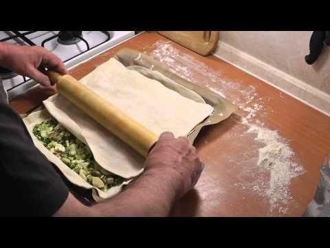 Пирог с молодой капустой и грибами. Просто, вкусно, недорого. - YouTube