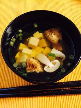 燃秋味覚】松茸と豆腐のお吸い物 by 角田食堂 [クックパッド] 簡単 ...