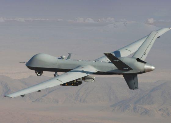 Imagen del MQ-9 Reaper, de la firma estadounidense General Atomics, que Defensa estudia adquirir.
