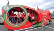 Coca-Cola enflamme Londres et Hyde Park avec l'arrivée de la flamme olympique