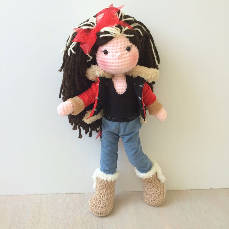 Amigurumi Doll Anleitung : 185 best images about Crocheted Amigurumi Dolls on ...