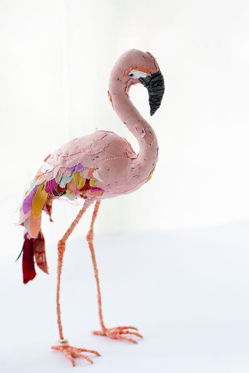 Abigail Brown's flamingo... #pink