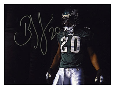 Weapon X! My all time favorite Eagle, great guy on and off the field and one of my favorite athletes!
