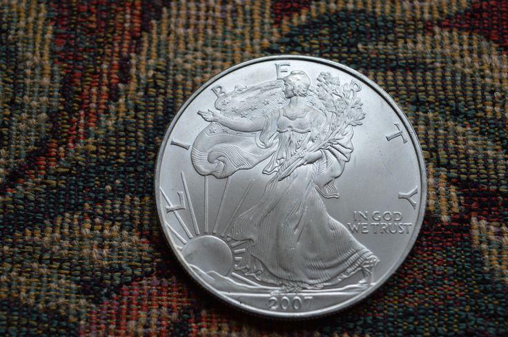 American Silver Eagle 2007, 1oz 999 Silver . | eBay