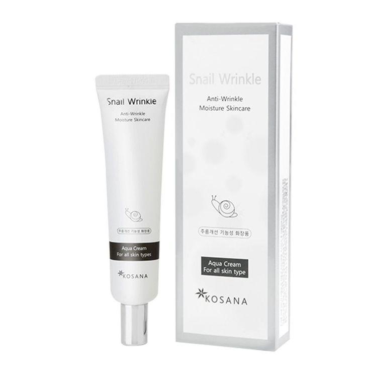 KOREANA Kosana Snail Wrinkle Moisture Cream30ml Amelanchier Asiatica Functional #Benecos