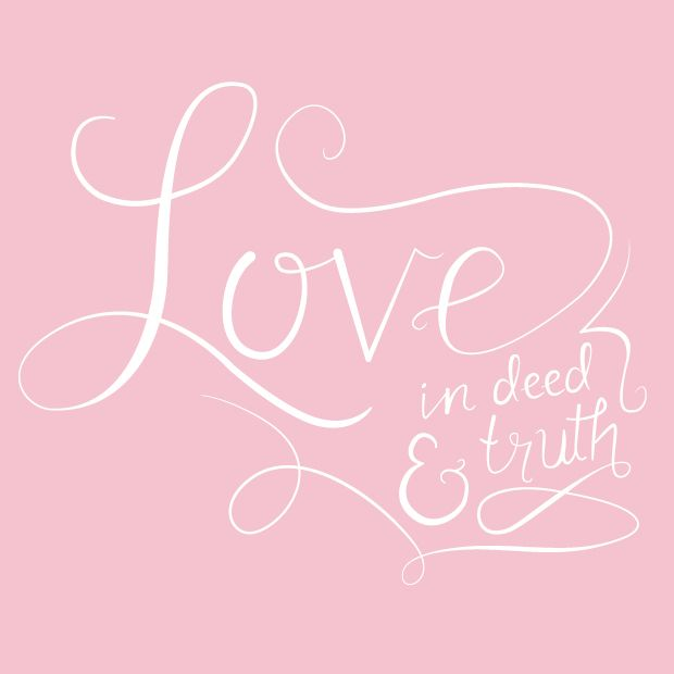 Locust Design Co // Love in Deed & Truth