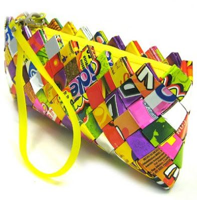 How To Make a Candy Wrapper Purse | The Thunderbolt