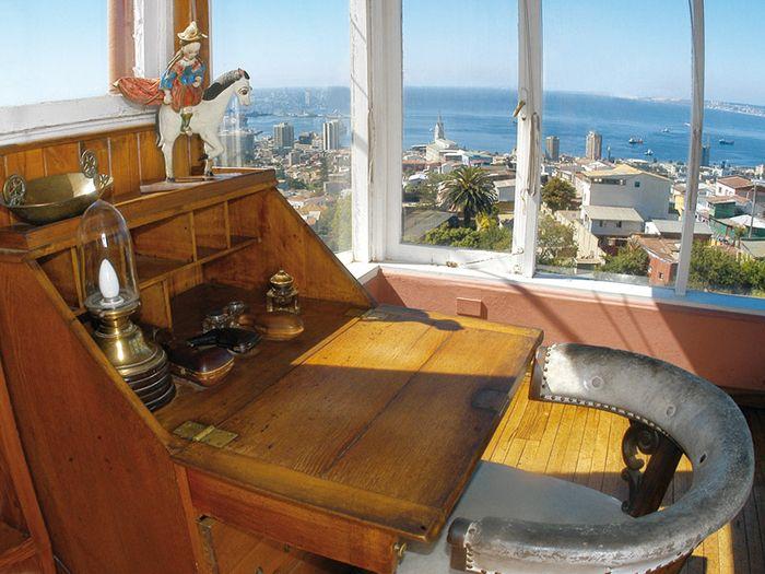 Casa Pablo Neruda - La Sebastiana (Valparaiso, Chile)