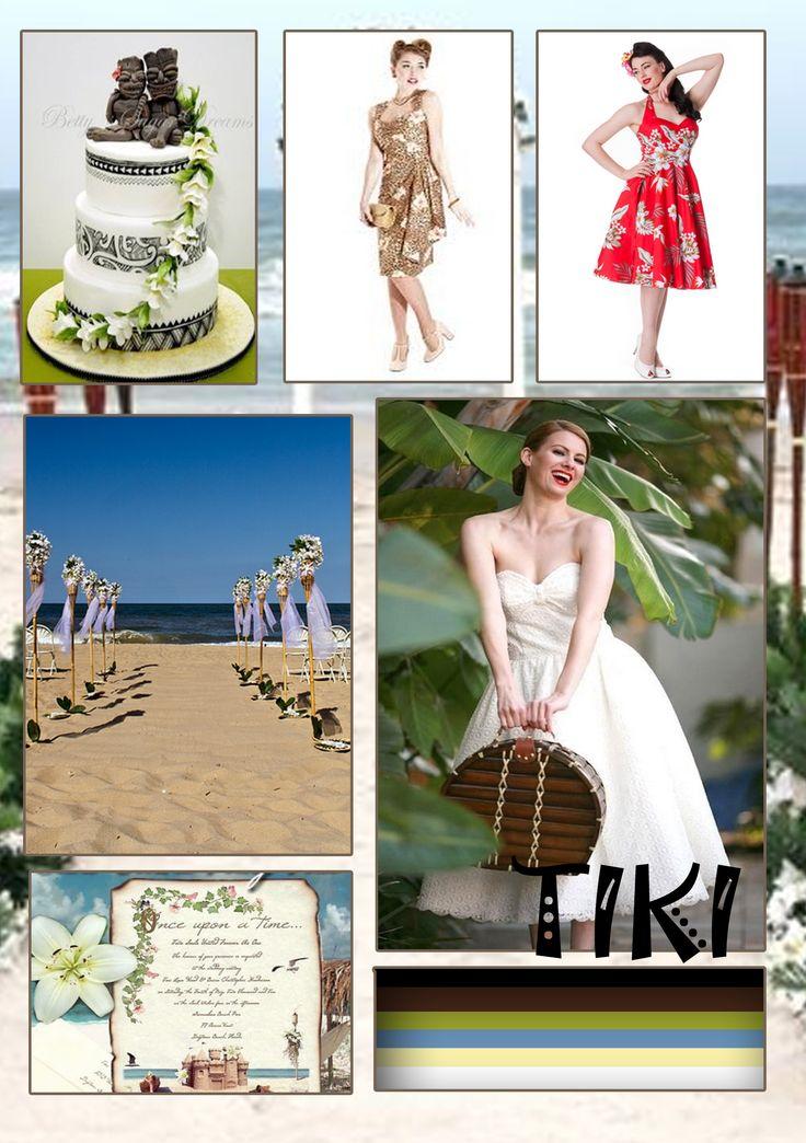 Tiki style wedding
