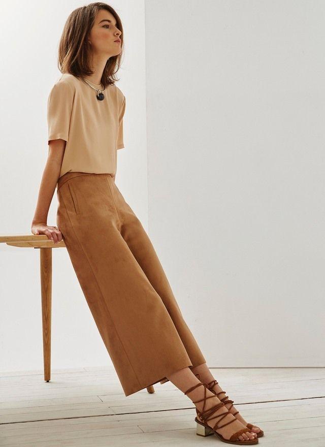 Pantalón Culotte de eco-ante